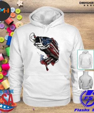 Official fishing american flag 2021 s hoodie