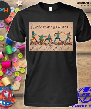 Official god says you are shirt