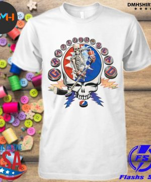 Official grateful dead hockey minglewood shirt