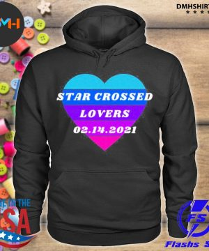 Official heart star crossed lovers 02.14 hoodie
