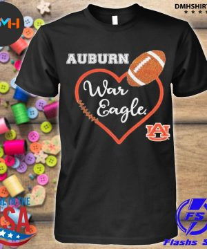 Official heat auburn war eagle auburn university shirt