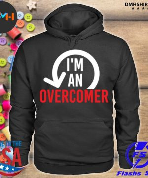 Official i'm an overcomer s hoodie