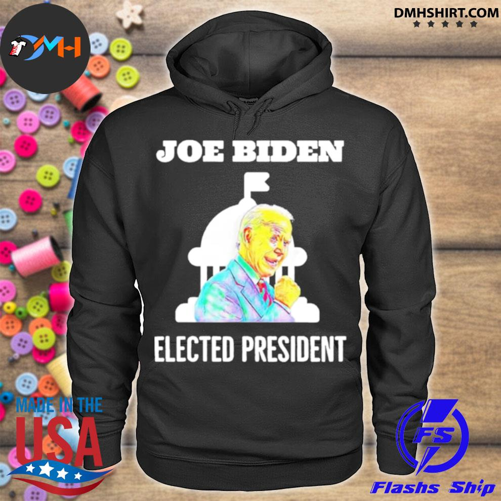 Official joe biden elected president inauguration day in white house s hoodie