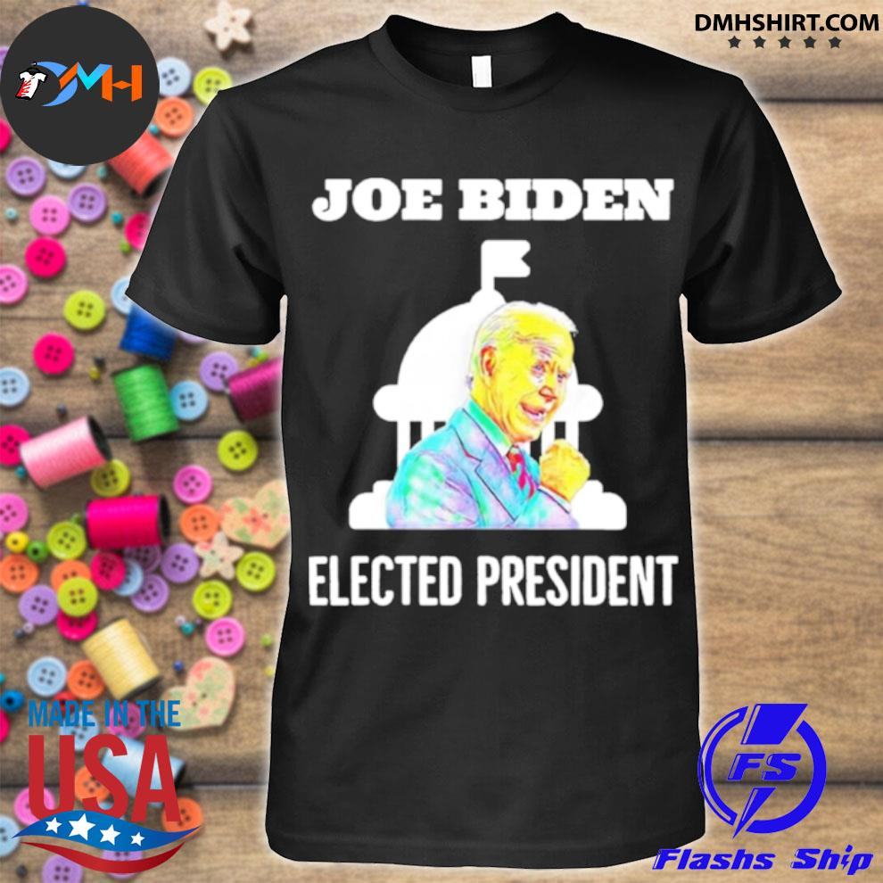 Official joe biden elected president inauguration day in white house shirt