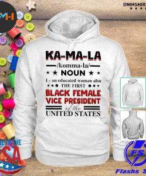 Official kamala harris 2020 definition madame vice president of us s hoodie