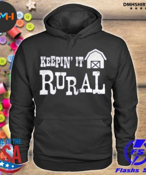 Official keepin it rural farm barn country farming s hoodie
