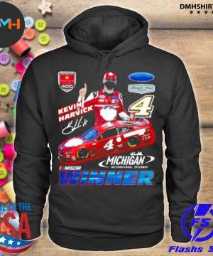 Official kevin harvick winner michigan nascar s hoodie
