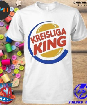 Official kreisliga king logo shirt