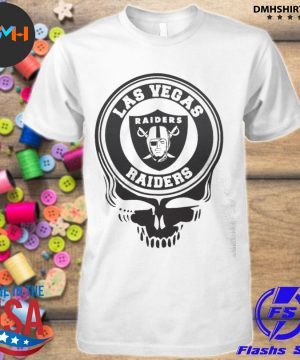 Official las vegas raiders skull shirt