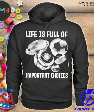 Official life is full of important choices s hoodie