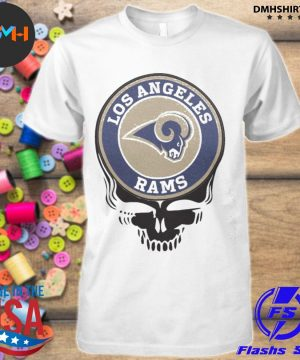 Official los angeles rams football skull shirt