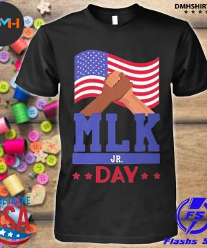Official martin luther king jr day mlk fist freedom shirt