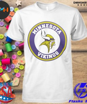 Official minnesota vikings logo shirt