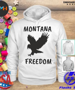 Official montana freedom s hoodie