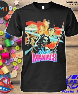 Official neon maniacs shirt