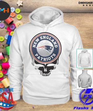 Official new england patriots football skull s hoodie