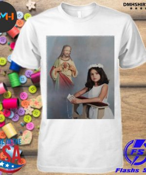 Official official selena gomez' first communion shirt