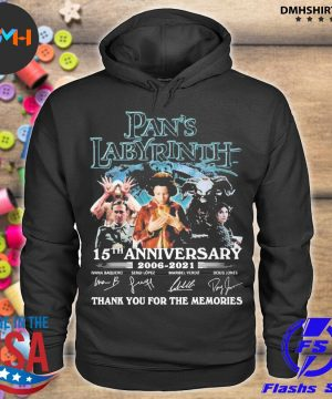 Official pan's labyrinth 15th anniversary 2006 2021 thank you for the memories s hoodie