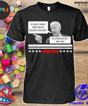Official parody of joe biden pro trump 2021 election stars shirt