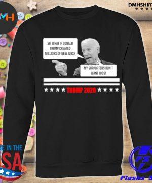 Official parody of joe biden pro trump 2021 election stars s sweatshirt
