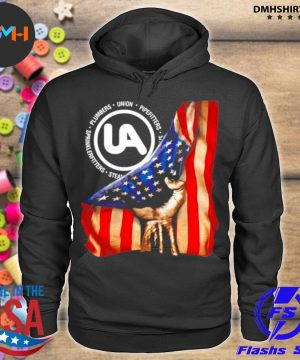 Official plumbers union pipefitters american flag s hoodie