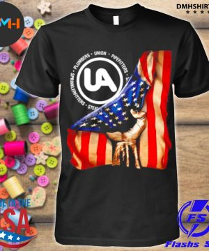 Official plumbers union pipefitters american flag shirt