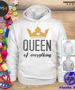 Official queen of everything s hoodie