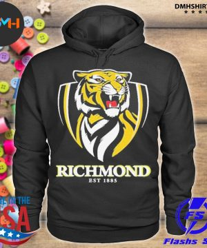 Official richmond football club afl by a shell s hoodie