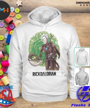 Official rick and morty the rickdalorian s hoodie