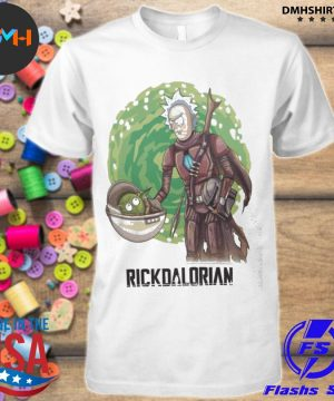 Official rick and morty the rickdalorian shirt
