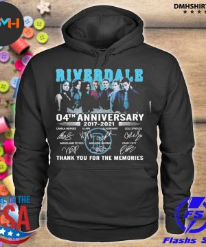 Official riverdale 04th anniversary 20217 2021 thank you for the memories s hoodie