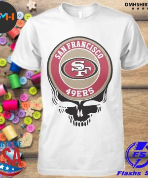 Official san francisco 49ers skull shirt