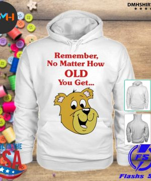 Official scooby doo remember no matter how old you get s hoodie