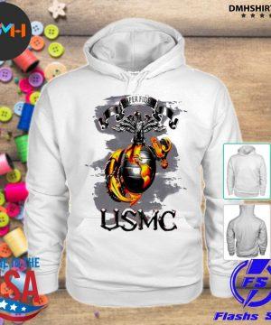Official semper fidelis usmc s hoodie