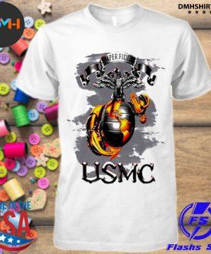 Official semper fidelis usmc shirt