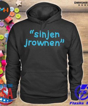 Official sinjin drowning merch sinjen s hoodie