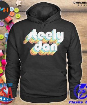 Official steely dan retro s hoodie