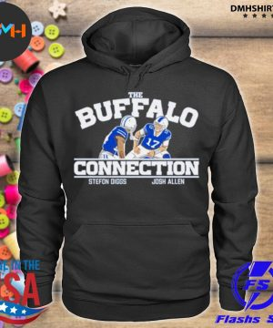 Official the buffalo connection stefon diggs and josh allen s hoodie