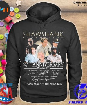 Official the shawshank redemption 27th anniversary 1994 2021 s hoodie