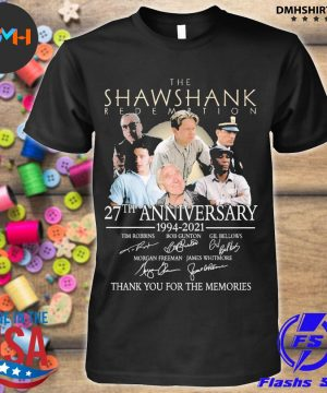 Official the shawshank redemption 27th anniversary 1994 2021 shirt