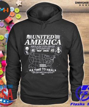 Official united american reclaim our sense of purpose biden harris s hoodie