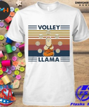 Official volley llama vintage shirt