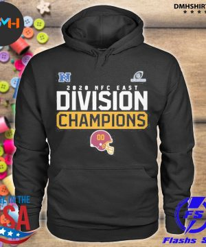 Official washington football team 2020 nfc east division champions s hoodie
