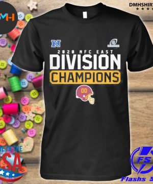 Official washington football team 2020 nfc east division champions shirt